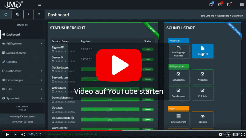 Offizielles Video zur LMs® Software